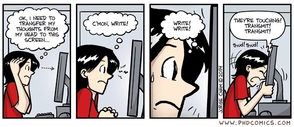 Phd Comics Thesis Writing Progress