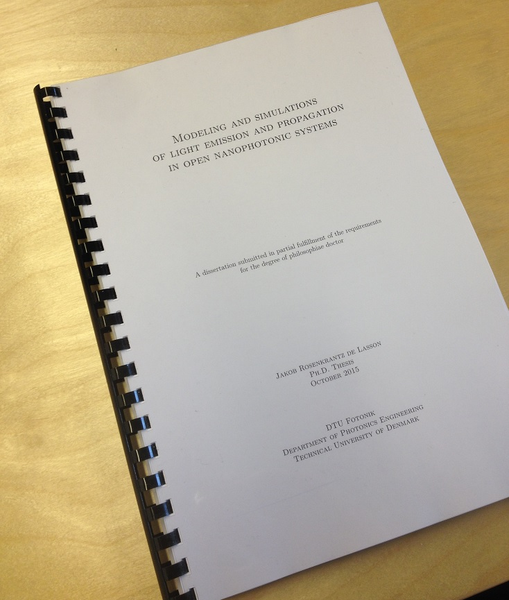 Ph.D. thesis submitted (November 2015)
