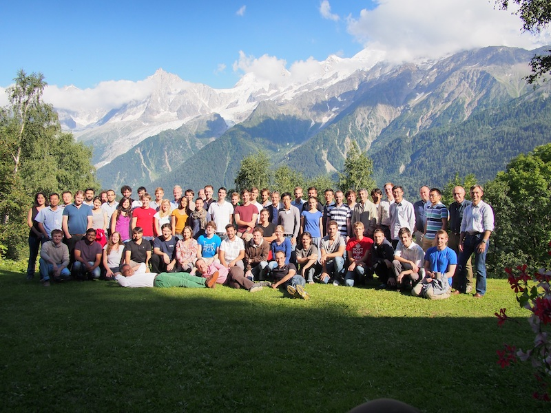 Les Houches summer school (August 2013)