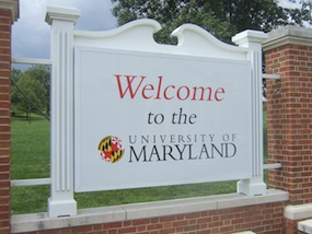 Exchange at University of Maryland (Fall 2010)