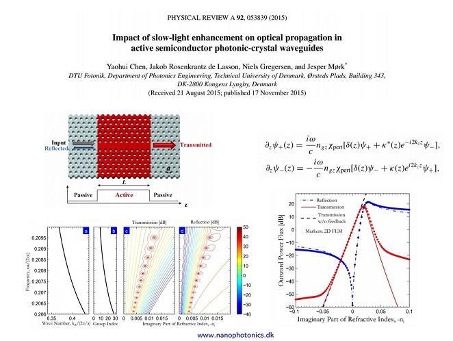Phys. Rev. A 2015 article one-slide-one-minute at DTU Fotonik (November 2015)